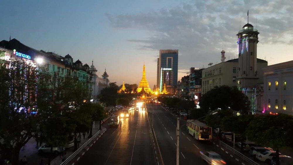 Sule Pagoda www.onemorestamp.com
