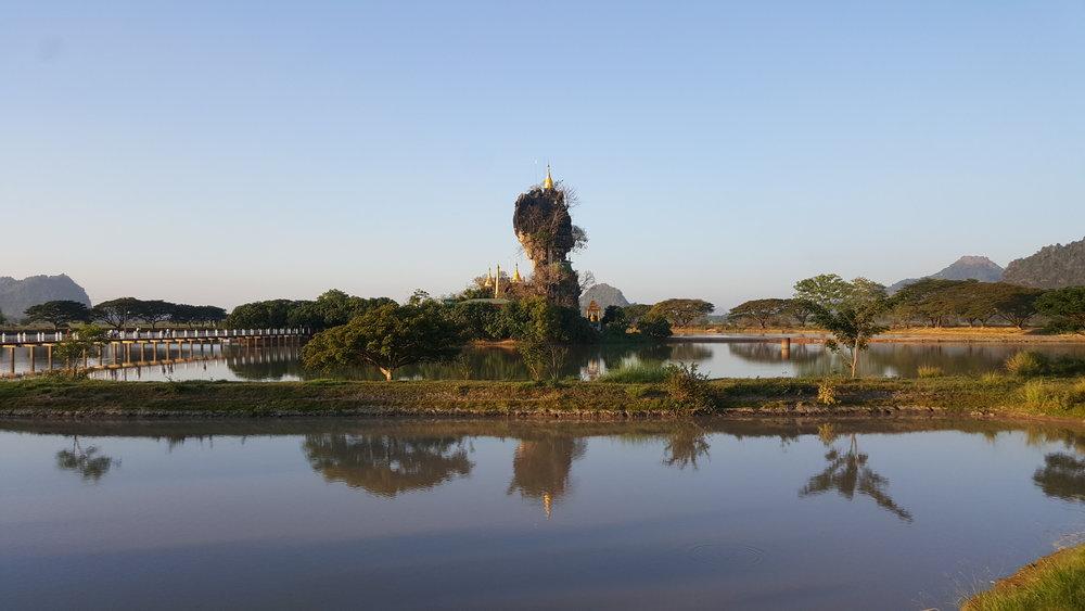 myanmar island