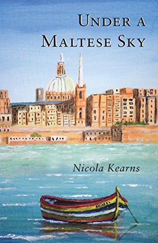 Under a Maltese Sky by Nicola Kearns cover