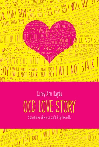 OCD Love Story by Corey Ann Heydu cover