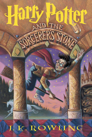 Harry Potter and the Sorcerers Stone by J.K. Rowling cover