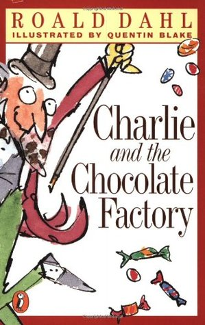 Charlie and the Chocolate Factory Roald Dahl cover