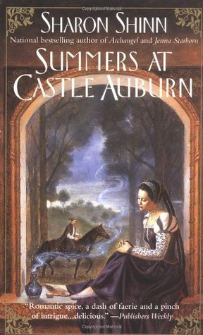 Summers at Castle Auburn by Sharon Shinn cover