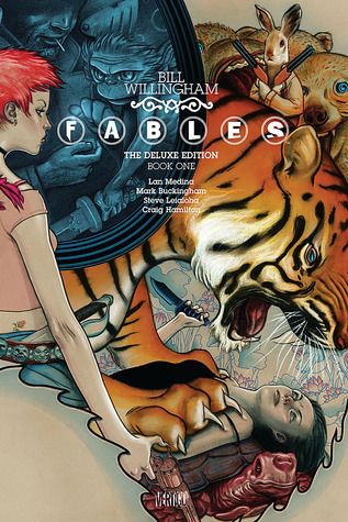 Fables by Bill Willingham  cover