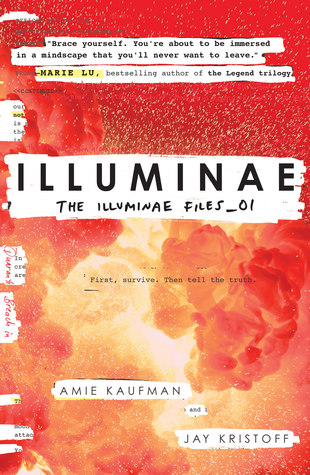 Illuminae by Amie Kaufman and Jay Kristoff cover