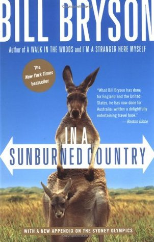 In a Sunburned Country by Bill Bryson cover