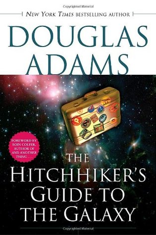 The Hitchhiker's Guide to the Galaxy by Douglas Adams cover