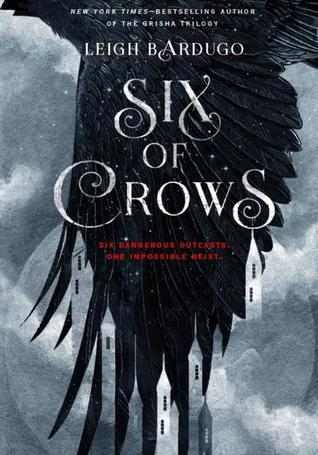 Six of Crows  by Leigh Bardugo cover