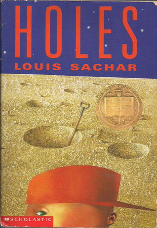 Holes  by Louis Sachar cover