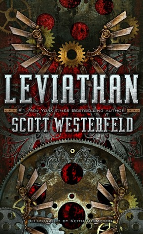 Leviathan  by Scott Westerfeld cover