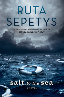 Salt to the Sea by Ruta Sepetys cover