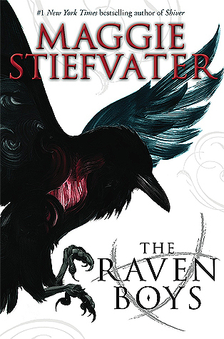 The Raven Boys  by Maggie Stiefvater cover