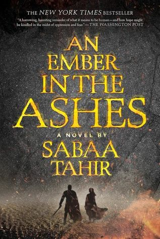 An Ember in the Ashes by Sabaa Tahir cover
