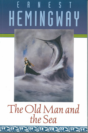 The Old Man and the Sea by Ernest Hemingway cover