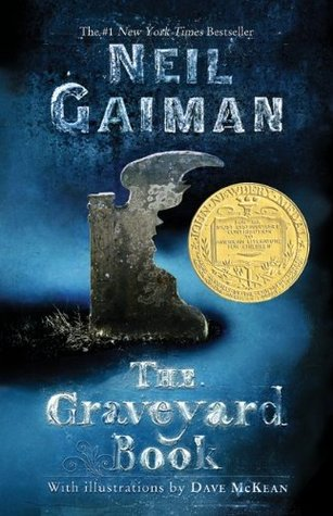 The Graveyard Book by Neil Gaiman cover