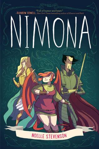 Nimona byNoelle Stevensoncover