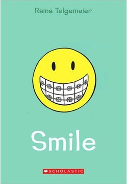Smile by Raina Telgemeier cover