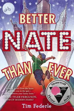 Better Nate Than Ever  by Tim Federle cover
