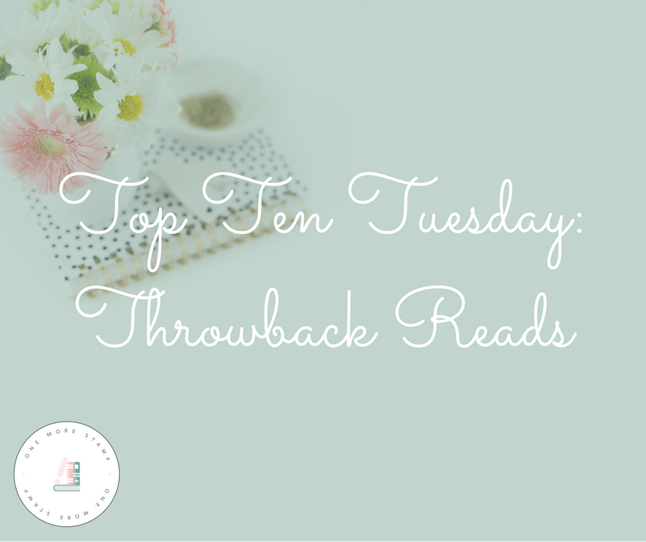 Top Ten Tuesday: Throwback Reads