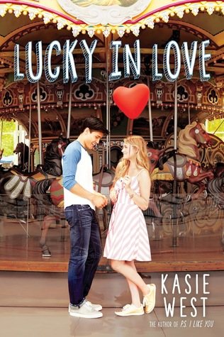 Lucky in Love by Kasie West cover