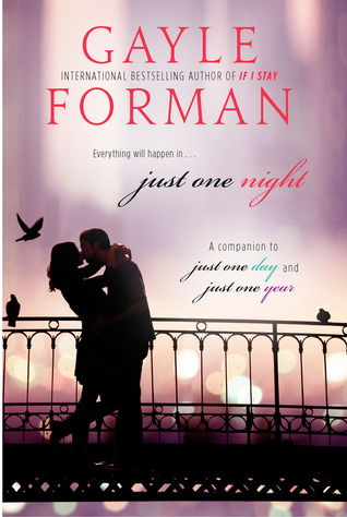 Just One Night by Gayle Forman cover