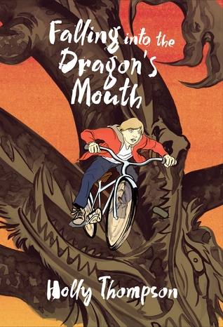 Falling into the Dragon's Mouth by Holly Thompson cover