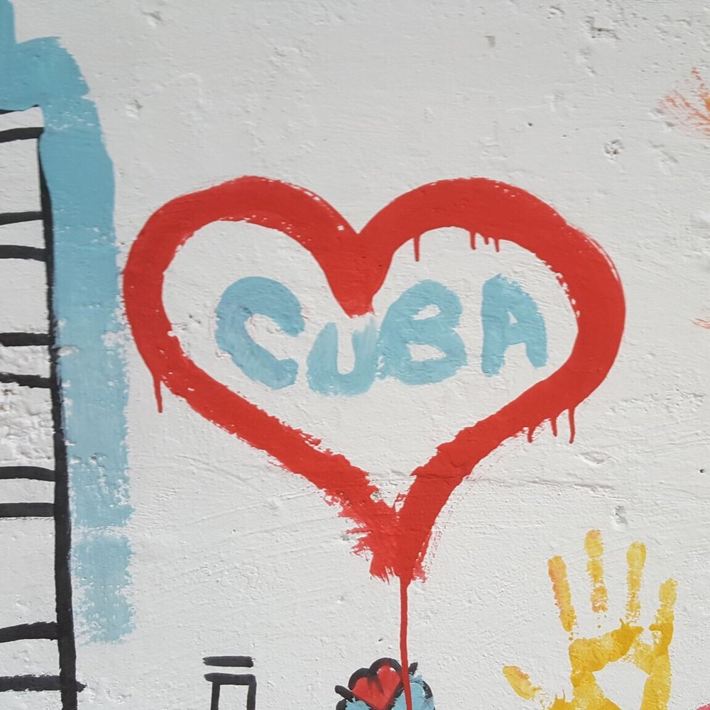 cuba heart grafitti www.onwmorestamp.com