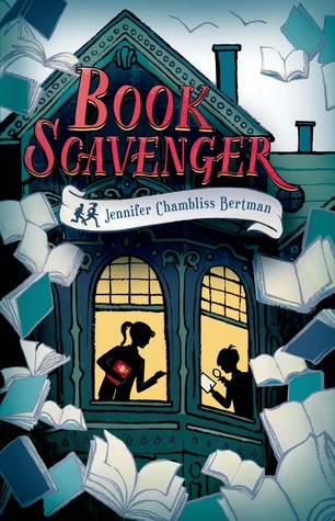 Book Scavenger  by Jennifer Chambliss Bertman cover