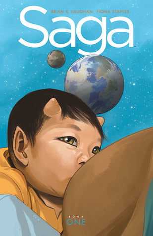 Saga: Book One by Brian K. Vaughan,  Fiona Staples