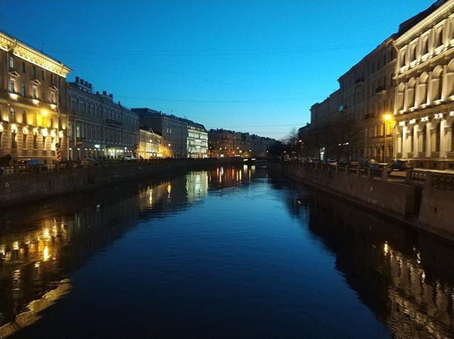 Saint Petersburg looking fancy. #saintpetersburg #russia #canal #travel #wanderlust #1ms2019