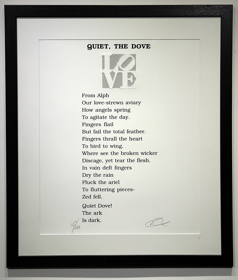 Quiet The Dove, SOLD
