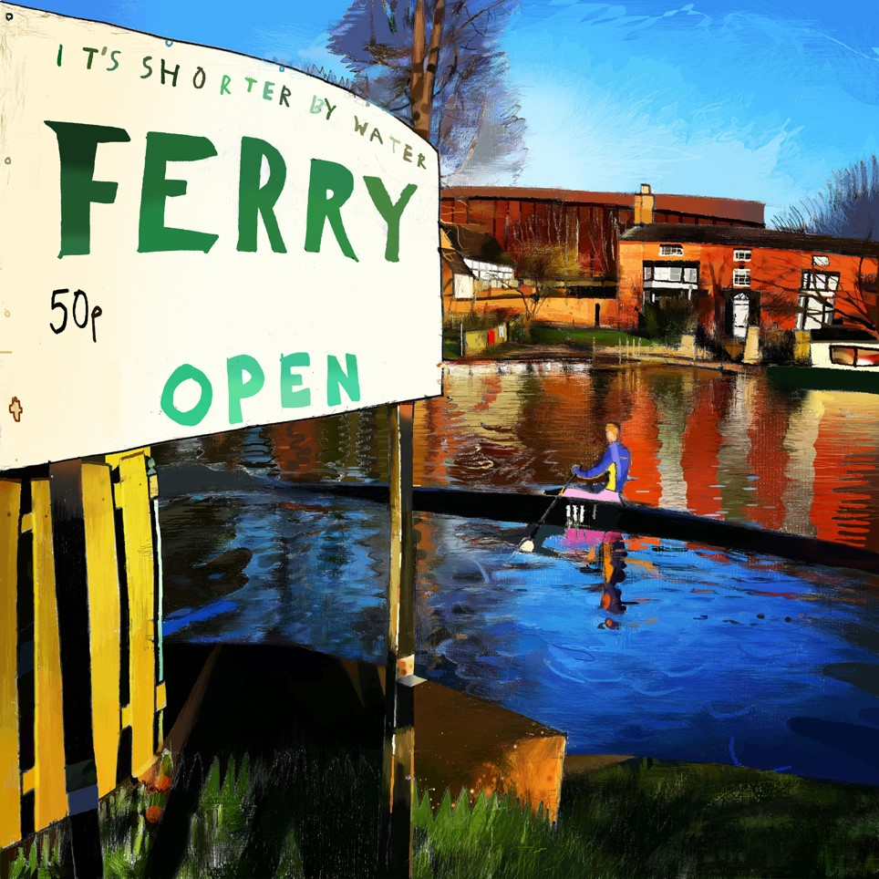 Ferry Crossing, Stratford