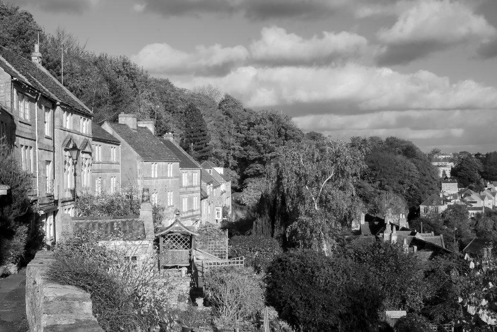 Bradford on Avon in Monochrome 01.jpg