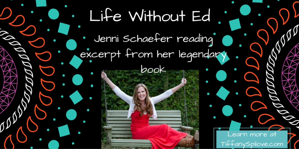 West Chester, PA therapy - Jenni Schaefer reading Life Without Ed on Eating Disorders and recovery