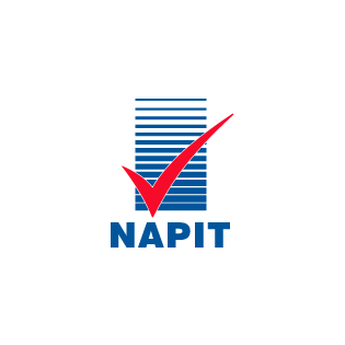 We Are A  NAPIT  Member...   NAPIT is a governing body which makes sure its contractors abide by the European Standards for electrical work and electrical safety including and above 'Part P'.    READ MORE HERE...