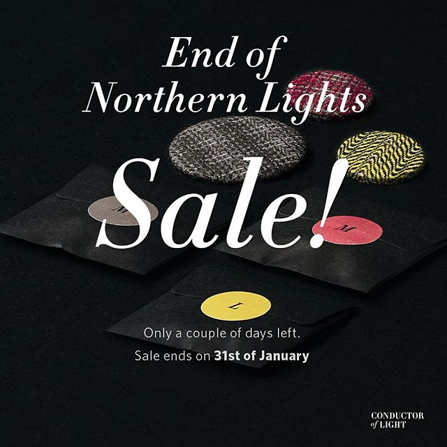 The northern lights January sale ends soon! So grab your favorite reflective tweed button over at our store #cofl #coflnorway #conductoroflight #reflective #tweed #button #sale #january #2017 #design #store #accessories #accessory #hipsters #fabric #dark #packaging #black #fashionaddict