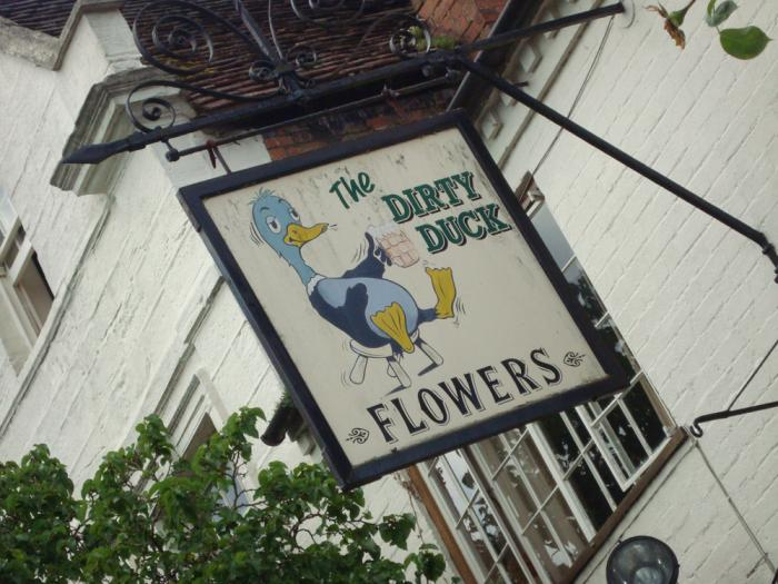 Dirty Duck STratford upon Avon