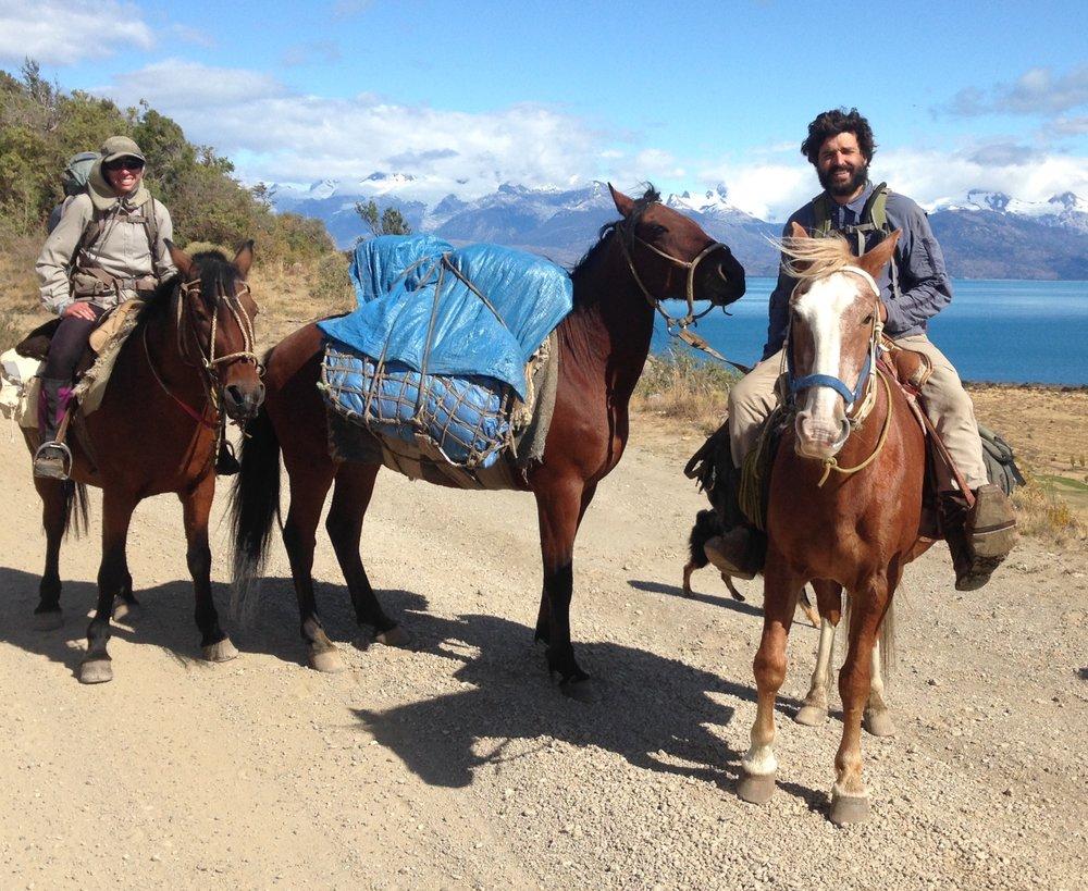 Traveling across Patagonia on horseback