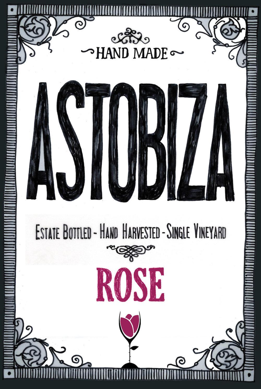 Astobiza Txakoli de Alava Rosado 2016