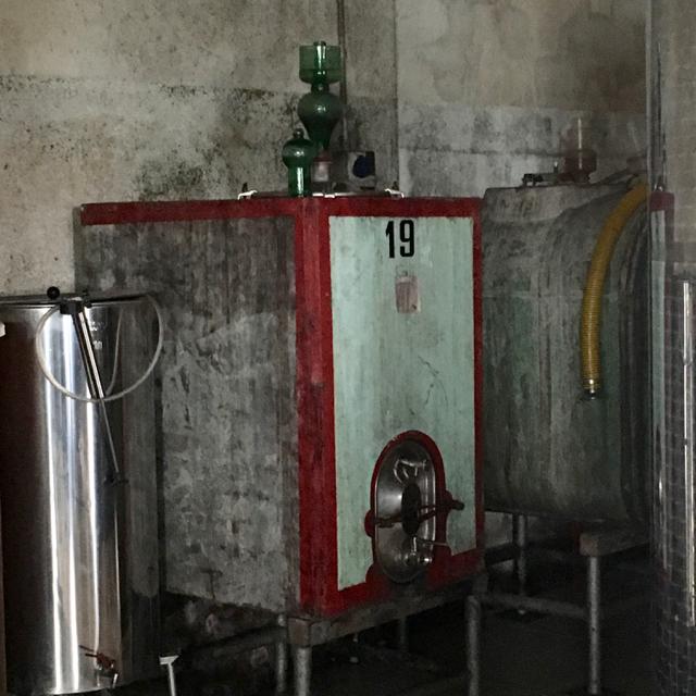 Concrete fermentation tank