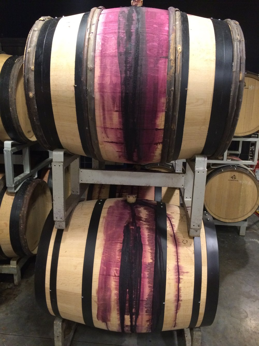 New oak barrels