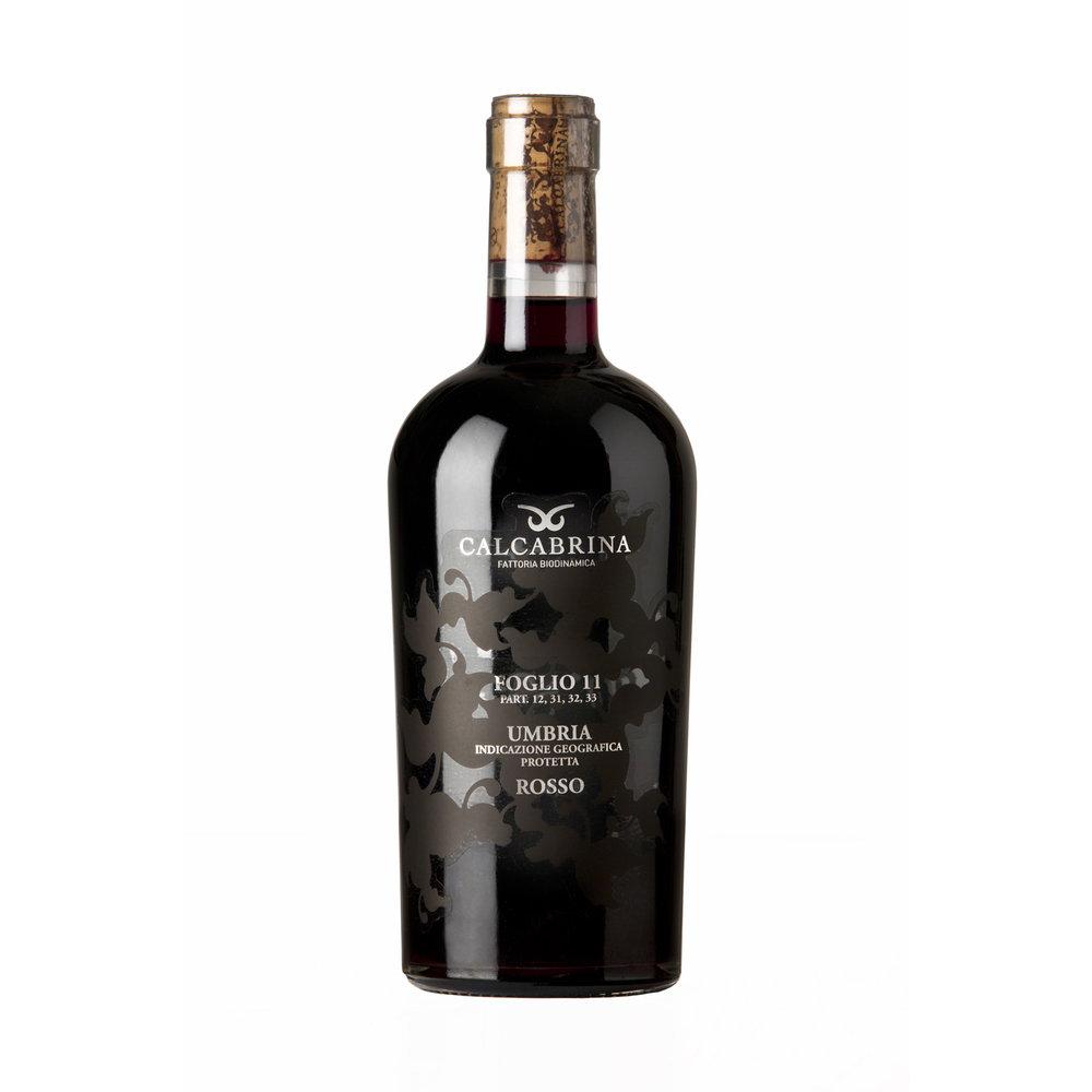 Calabria Foglio 11 Sagrantino Bottle