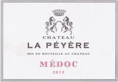 La Peyere Medoc 2012