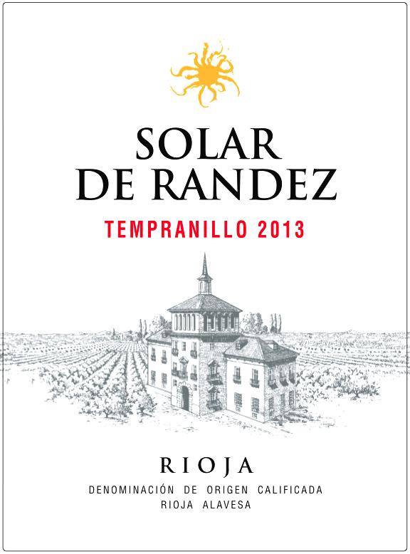 Solar de Randez Rioja Joven Tempranillo