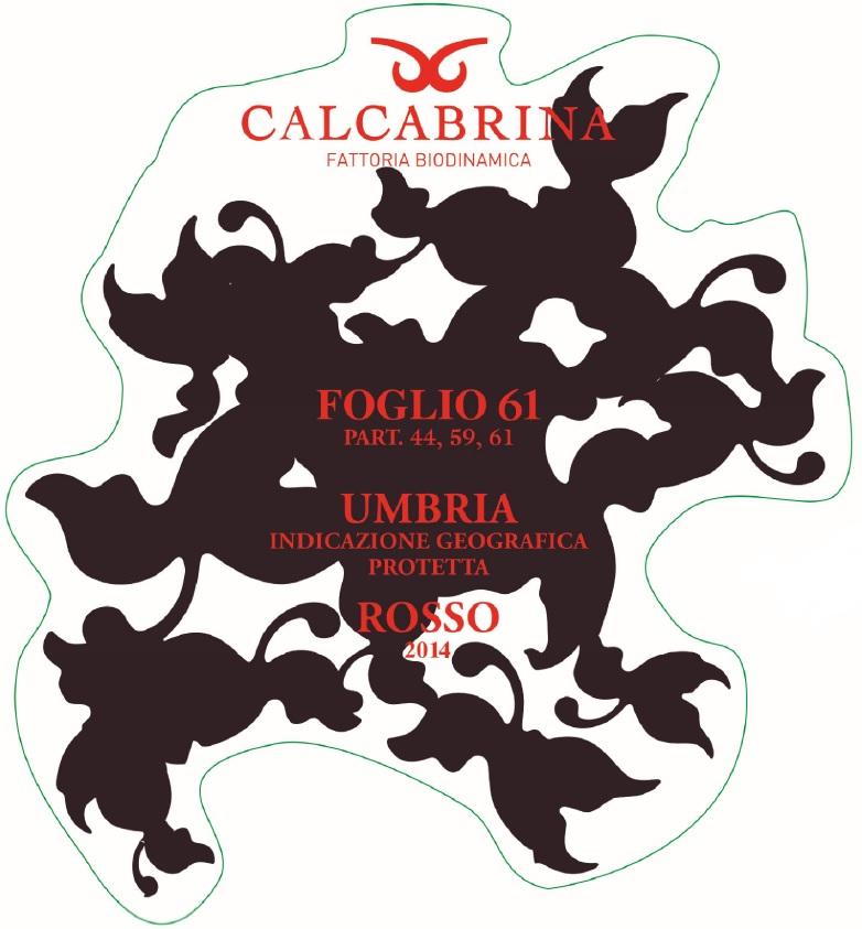 Calcabrina Foglio 61 Sangiovese