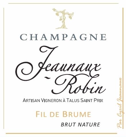 Jeaunaux-Robin Fil de Brume Brut Nature Front Label.jpg