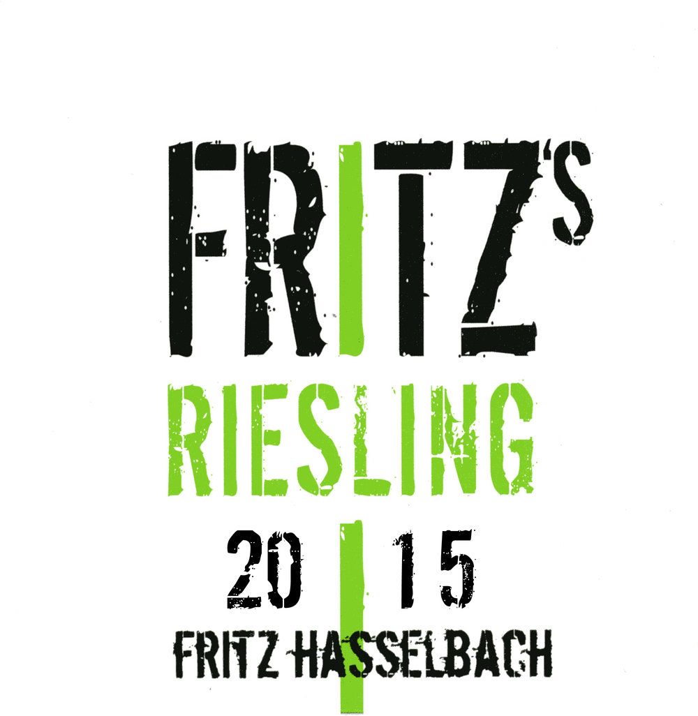 -  Fritz's Riesling 2016Vivacious, fruity, off-dry Riesling with 22-25g residual sugar. The vineyards are very close to the Rhine River on steep slopes facing south-east. The combination of four factors—the red slate soil, the closeness to the river, great sun exposure and the steepness of the vineyards—are the perfect combination to produce the amazing value Fritz's Riesling.