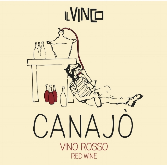 - Il Vinco Canajo Vino Rosso (Canaiolo Nero) 2016Made from 100% Canaiolo Nero from 20 year old vines planted in cordone speronato. The vineyard is biodynamic as of 2017 with only small amounts of copper and sulfur used. After de-stemming, the grapes are spontaneously fermented in concrete tanks, After fermentation for eight days in concrete, the wine is transferred to stainless where it rested for three months. Minimal SO2 (26mg/l) is added at bottling. 12.5% alcohol. This is light, fresh and juicy with lots of length.