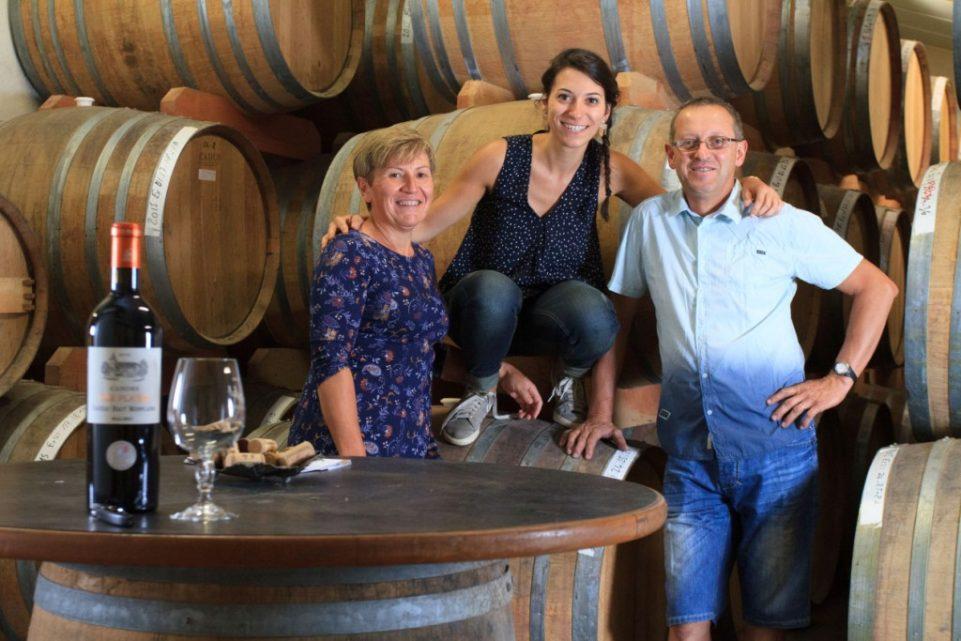 Cathy, Mathilde & Daniel