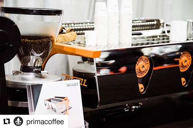 "#Repost @primacoffee (@get_repost) ・・・ ""Flow rate all the way.."" Really excited about what @duvallespresso has been up to. Check em out! Booth H in the South Hall.  #coffeeexpo2018  #sca2018"